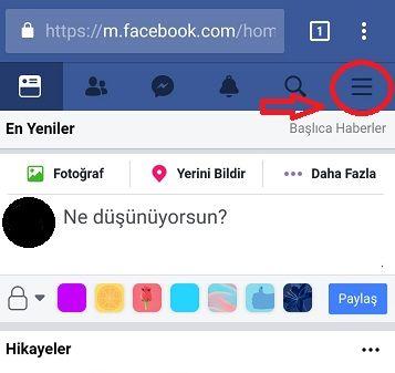 Mobil Cep telefonu İngilizce menü türkçeye çevirme
