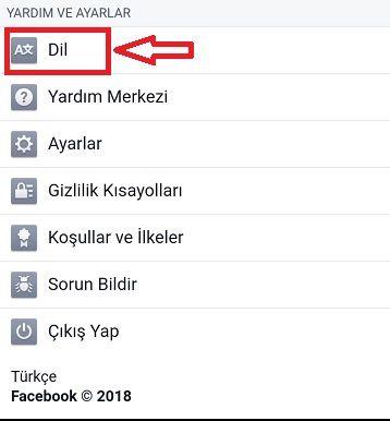 Facebook İngilizce Oldu Nasıl Türkçe Yapılır / İngilizce Facebook'u Türkçe'ye Çevirme