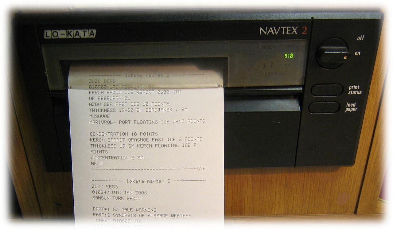 NAVTEX Nedir / NAVTEX İlan Etmek Ne Demek?