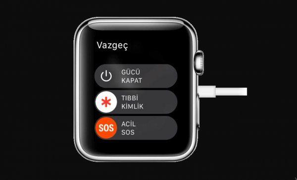 Apple Watch Parola Resetleme