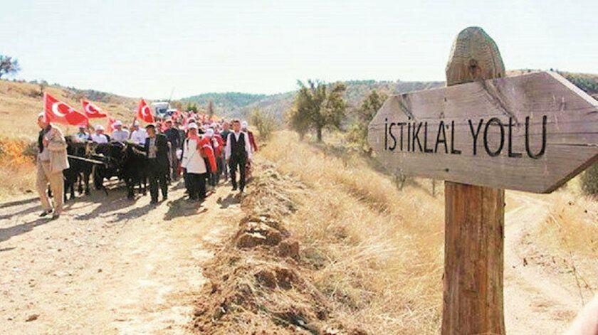 İstiklal Yolu Tarihî Millî Parkı, Kastamonu, Çankırı, Ankara