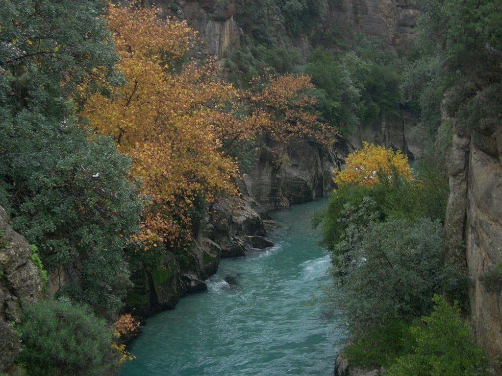 Köprülü Kanyon Millî Parkı, Antalya