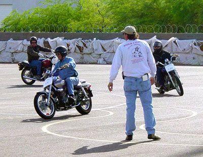motosiklet sürüş