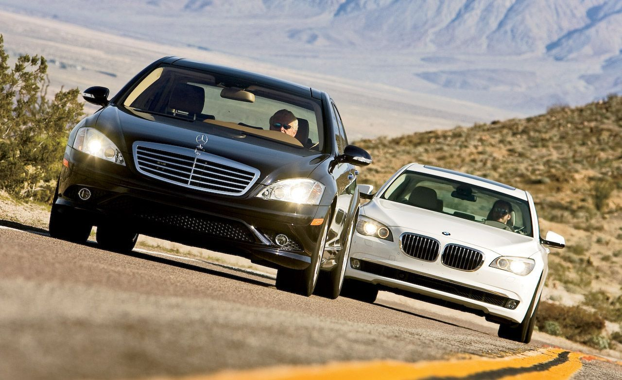 BMW 7 serisi ve Mercedes S