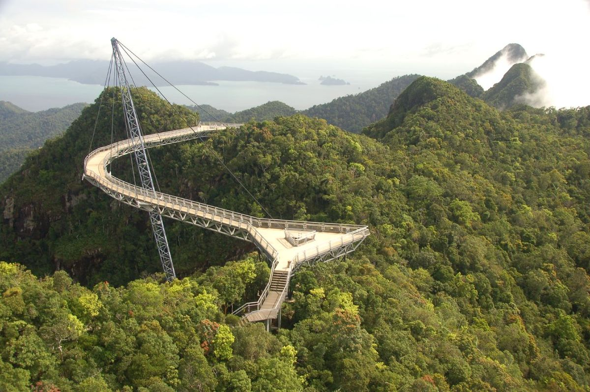 Langkawi bridge Langkawi köprüsü