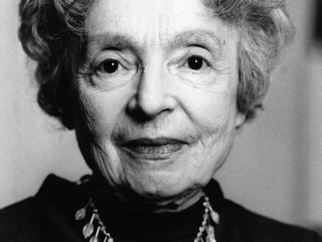 Nelly Sachs (1891 – 1970)