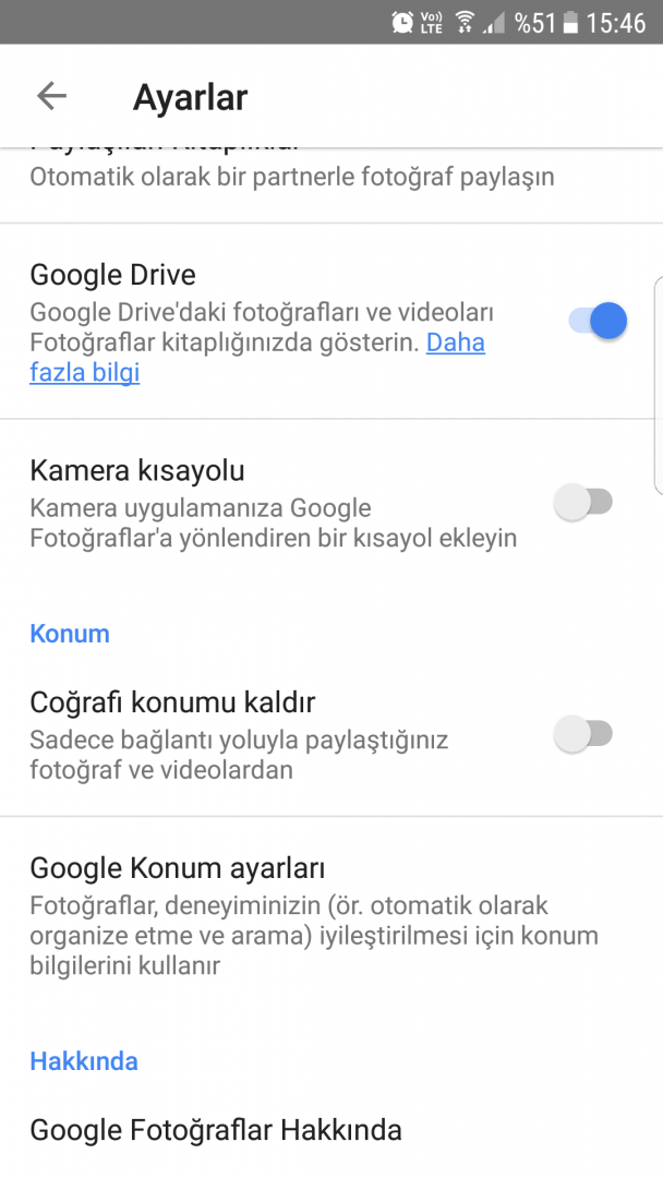 Google Photos Temel Ayarlar Nelerdir?