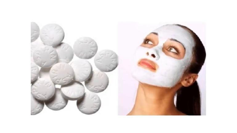 aspirin maskesi