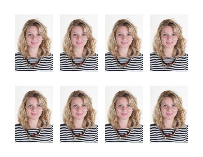 Biyometrik fotoğraf pasaport için
