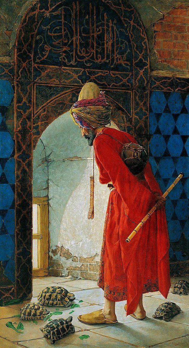 Kaplumbağa Terbiyecisi / Osman Hamdi Bey Kimdir? Hayatı Ve Eserleri Nelerdir? (1842 – 1910)