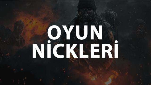 En İyi Clan İsimleri ve Oyun Nickleri 2021, Şekilli Nick Önerileri 2021