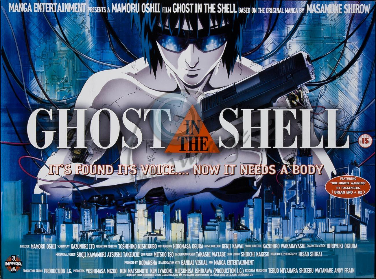 Ghost in the Shell Serisi (1995 – 2006)