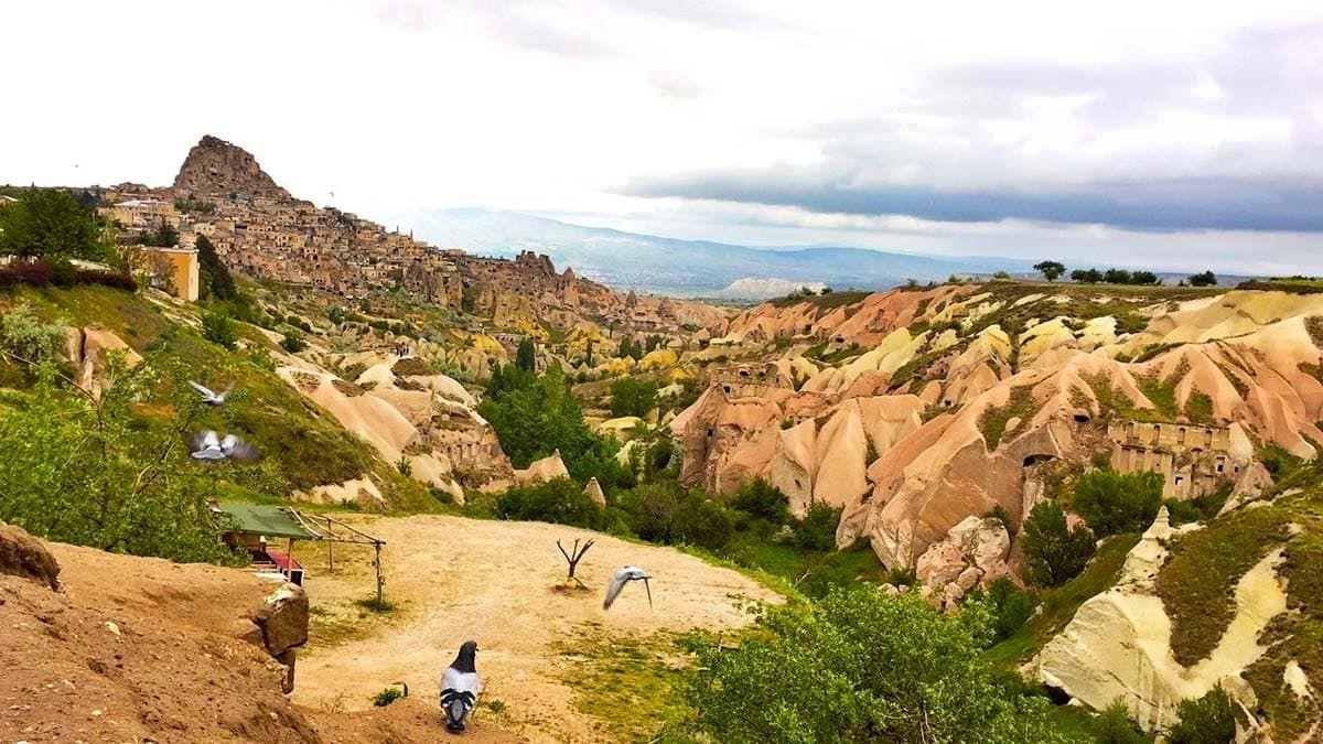 Kapadokya-Nevşehir'in Güvercinlikleri