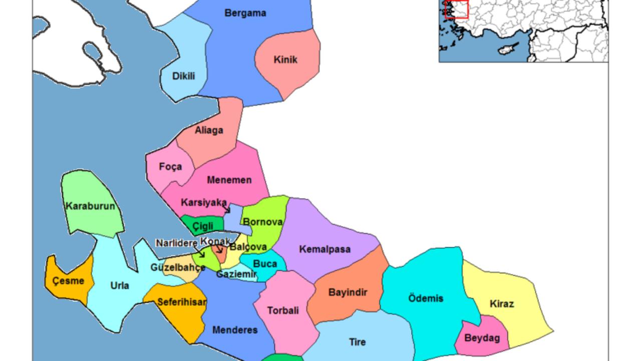 İzmir İlçeleri