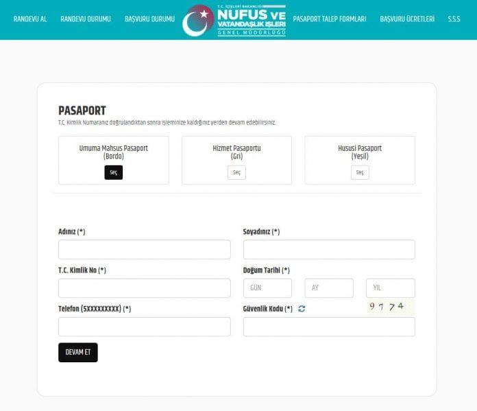 İnternetten Pasaport Başvurusu Nasıl Yapılır