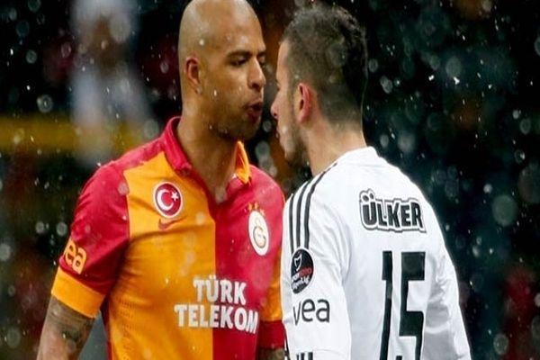Galatasaray Beşiktaş maçı ilk yarı maç özeti ve sonucu