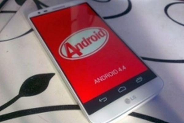 LG G2 Android KitKat hakında sevindirici haber
