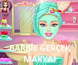Barbie oyunları ve kuaför makyaj oyunları