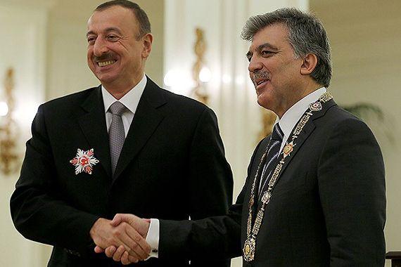 Gül'den Aliyev'e 'devlet nişanı'