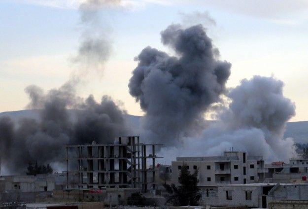 Şam'a misket bombasıyla saldırı düzenlendi