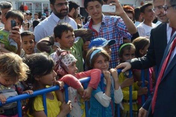 Savaş çocukları 23 Nisan'ı kutladı