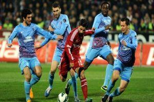 Trabzonspor, Beşiktaş'la 1-1 berabere kaldı