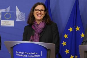 Malmström, 'tüm AB üyelerinin onayı gerekmeyecek'