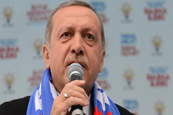 Başbakan Erdoğan'ın sesi kısıldı