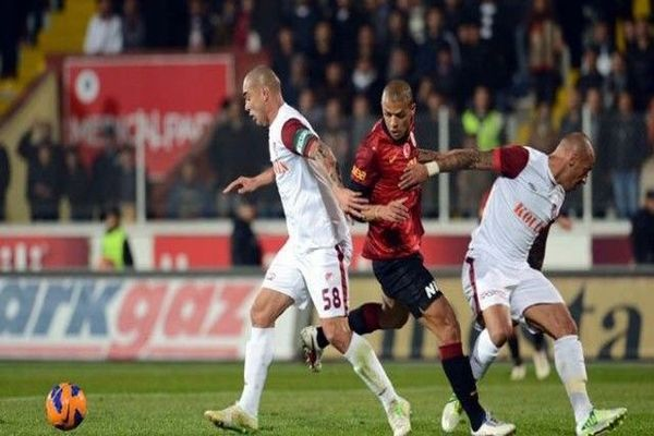 Galatasaray Antalyaspor ilk yarı maç özeti