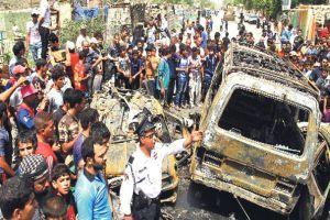 Irak'ta bombalı saldırı, 17 ölü,  21 yaralı