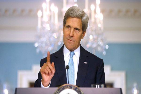 John Kerry isyan etti, 'Tek sorumlusu Esed'