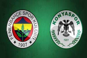 Fenerbahçe - Torku Konyaspor maçı geniş özeti