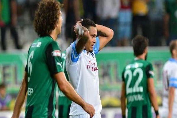 Trabzon Akhisar ilk yarı maç özeti ve golleri