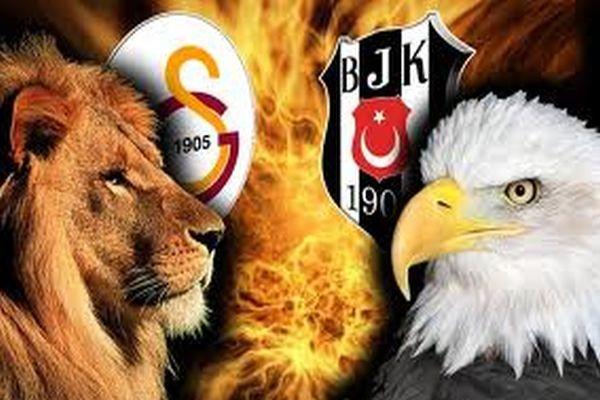 Galatasaray 1 - 0 Beşiktaş ilk yarı maç sonucu