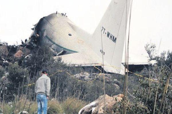 Cezayir'de ölüm uçağına 25 kişi binmemiş