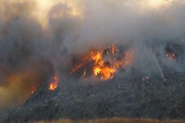 Irak'ın en büyük petrol rafinerisinde yangın çıktı