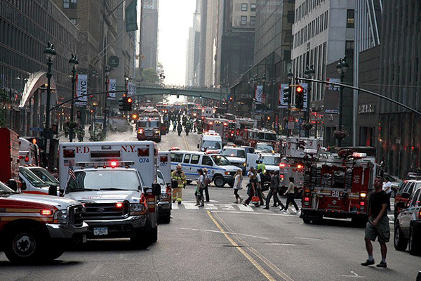 New York'ta korkutan patlama, 11 yaralı