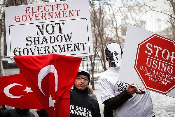 ABD'de 'Paralel Devlet İstemiyoruz' mitingi