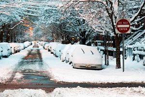 ABD'de soğuk hava ve kar hayatı olumsuz etkiliyor