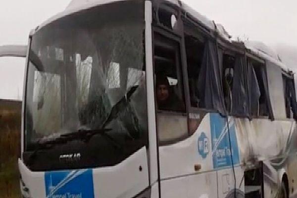 Afyon'da feci kaza çok sayıda yaralı var