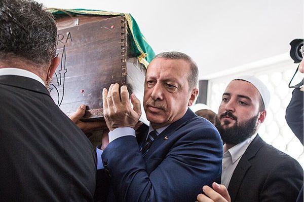 Erdoğan, Hacı Ahmet Gedikli'nin cenazesine katıldı