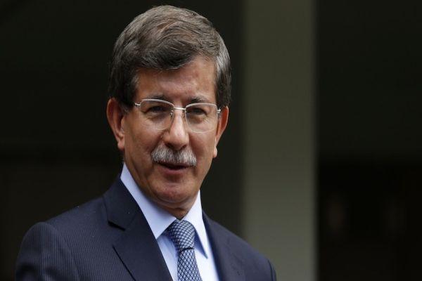 Başbakan Ahmet Davutoğlu gazetecilerle görüştü