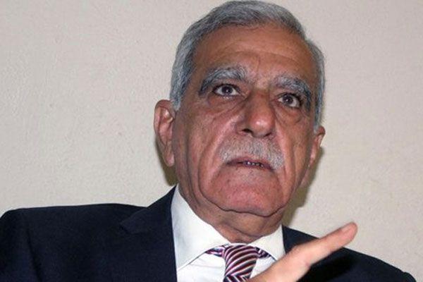 Ahmet Türk 'sorun çözülmezse isyan çıkarırım' dedi
