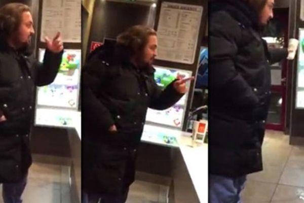 Bir Alman'ın McDonald's'a Tuğçe tepkisi
