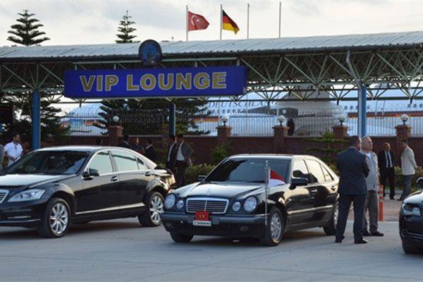 Almanya Cumhurbaşkanı Adana'da