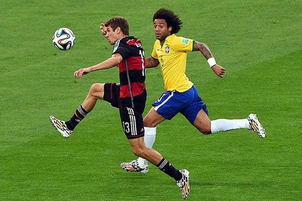 Almanya tarihi farkla Brezilya'yı geçerek finale yükseldi