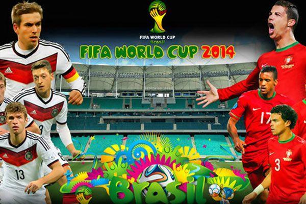 Almanya ile Portekiz Dünya Kupası 2014 maçında karşılaşıyor