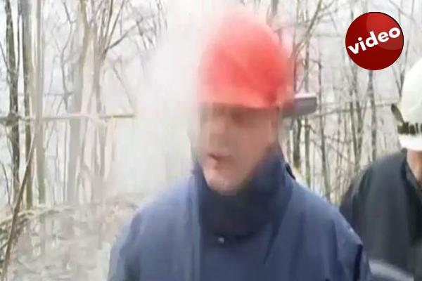 Sırp Bakan canlı yayında ölümden döndü- İZLE
