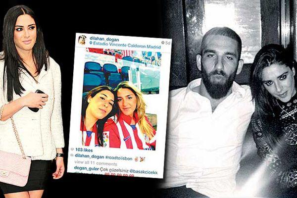 Arda Turan, eski sevgilisi Aslıhan Doğan'ı İspanya'da ağırladı