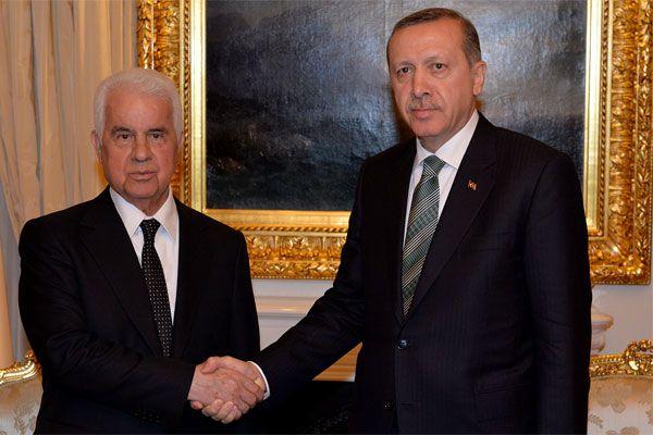 Başbakan Erdoğan Derviş Eroğlu ile görüştü